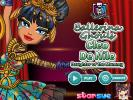 Ballerina Ghouls Cleo de Nile dress up game.