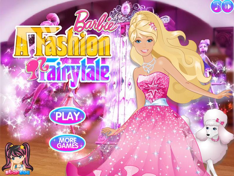 Barbie A Fashion Fairytale Game Fun Girls Games