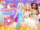 Bridezilla Barbie dress up game.