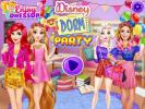 Disney Dorm Party dress up game.