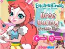 Bree Bunny and Twist dress up game.
