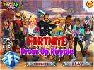 Play Fortnite Dress Up game.