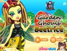Monster High Beetrice dress up game.