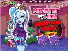 Monster High Christmas Party game.