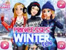 Princess Winter Fun dress up game.