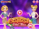 New Princess Rapunzel dress up game.