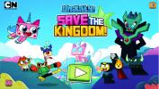 Unikitty save the kingdom.