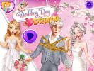 Wedding Day Drama dress up game.