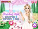 Wedding style dress up game.