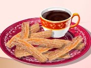 Game Cooking School: chocolate churros