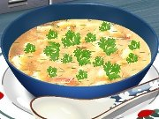 Game Cooking school: potato soup