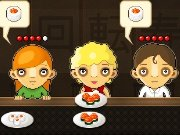 Cool sushi-bar game