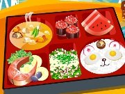 Decorate the sushi box game