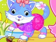 Dress the cute kitten game