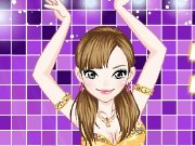 Dress up for belly dance game