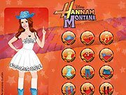 Dress Up Hannah Montana game