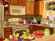 Find items on the kitchen game