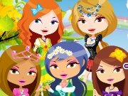 Five princesses in the garden game