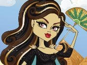 Monster High: Cleo de Nile dress up game