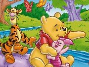 Puzzle: Winnie the Pooh and his friends game