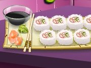 Cooking School: roll California game