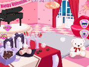 Room for the Valentine's Day game