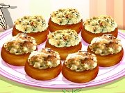 Cooking School: Stuffed mushrooms game