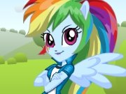 Style for Rainbow Dash game