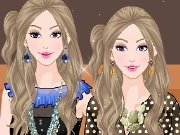 Stylish twins Dress Up game