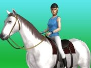 Virtual Horse Jumping game