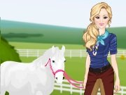 Game Anna princess horses