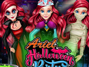 Ariel Halloween Parties game