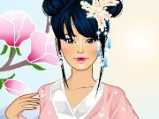 Dress Up: The girl from Asia game
