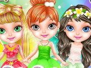 Baby Barbie in the Fairy Salon game