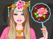 Fun game Barbie Chinese Princess