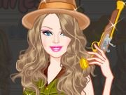 Barbie Treasure Hunter Princess dress up game