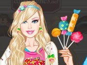 Fun game Barbie in the candy country