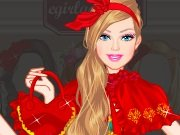 Fun game Barbie the Little Red Riding Hood