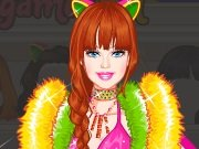 Barbie the catwoman Dress Up game