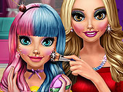 Cuties Candy Makeup game