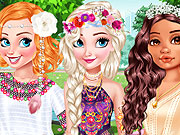 Design My Stylish Flower Crown game