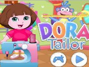 Dora sew clothes