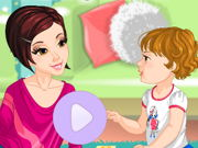 Funny mom dress up game game
