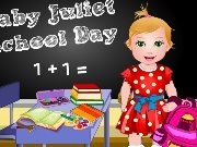 Baby Juliet School Day game