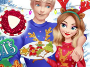 Magic Christmas with Elsa and Jack
