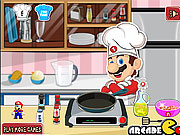 Mario Cooking Noodle game