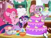 My Little Pony Cooking Cake game