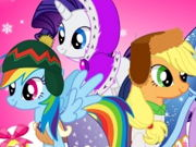 My Little Pony Winter Looks game