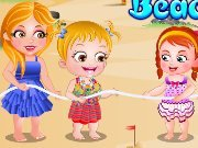 Game Baby Hazel: Beach party