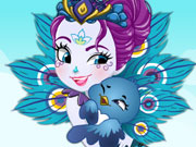 Enchantimals Patter Peacock Dress Up Game game